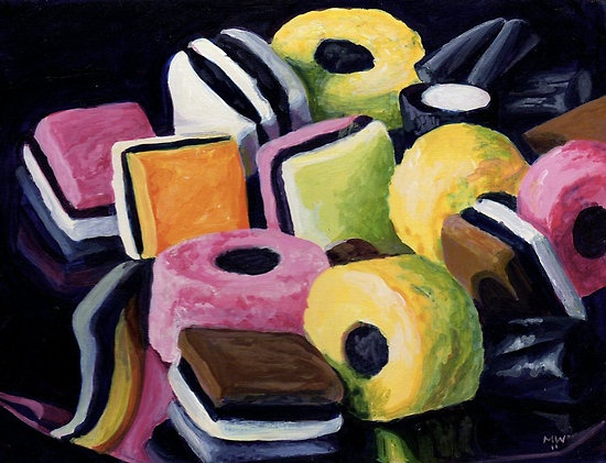Licorice All Sorts... A taste from my childhood.