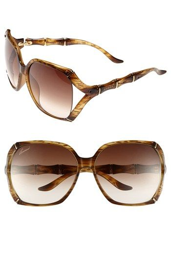 Gucci 58mm Oversized Sunglasses | Nordstrom