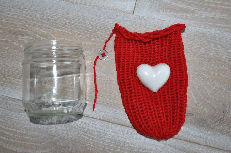 coprivaso della lunghezza desiderata,colore a vostra scelta,decorato con cuore in gesso,regalo unico,eco-friendly,bomboniera,portalattina di AlwaysLoveAffairsNr2 su Etsy