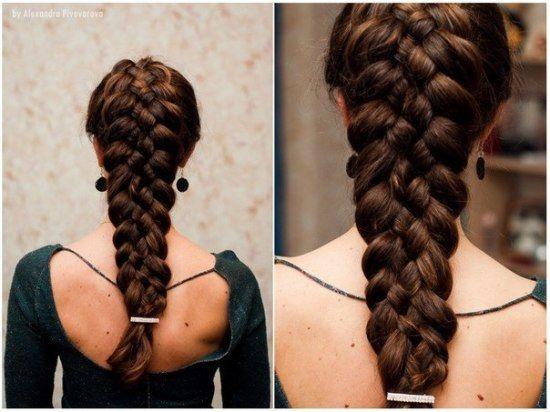 Пышные и объемные прически на длинные волосы (фото)