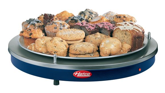 "The Glo-Ray® Portable Round Heated Shelf (GRSR Series) from Hatco is designed to keep a variety of food products at optimum serving temperatures for extended periods of time while maintaining that ""just made"" quality."