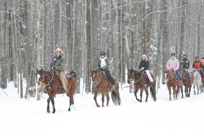 Horse enthusiasts will be thrilled to know that the resort offers guided riding tours in the chillier months that are just as exciting and fun as warmer excursions.