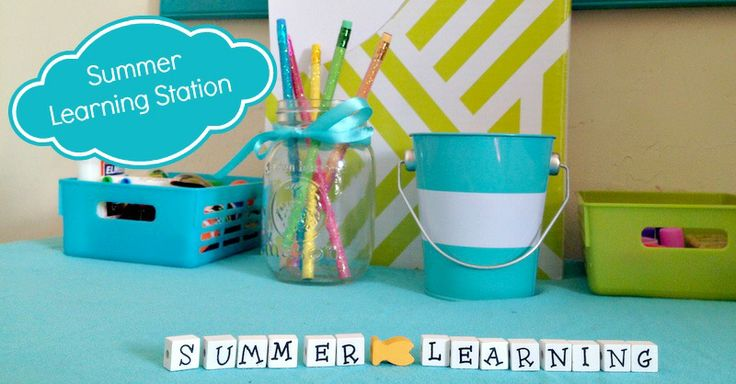 Make Your Own Summer Learning Station (3)