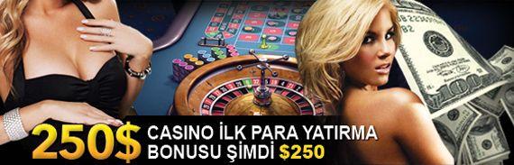 Forvetbet'ten 250$ Casino Bonusu