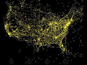 NASA US Air Space Screenshot - End of Flight Delays? FAA's GPS Fix Could Bust Sky Gridlock    Read more: End of Flight Delays? FAA's GPS Fix Could Bust Sky Gridlock - Popular Mechanics
