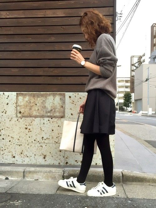 mana│UNIQLOのニット・セーターコーディネート-WEAR
