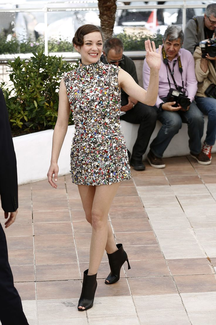 Marion Cotillard in Maison Martin Margiela  The 67th Annual Cannes Film Festival – 'Two Days, One Night' – Photocall Featuring: Marion Cotillard Where: Cannes, France When: 20 May 2014 Credit: KIKA/WENN.com **Availabl…