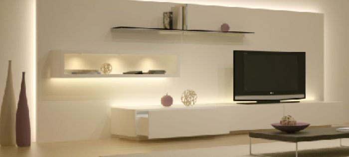 1000 ideas sobre muebles para tv led en pinterest - Iluminacion muebles ...