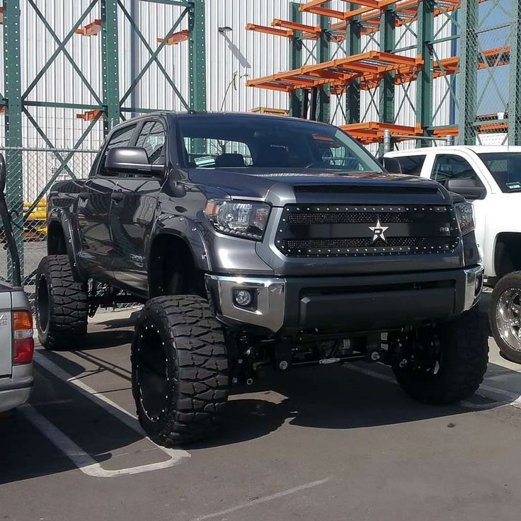 2014 Toyota Tundra.  www.CustomTruckPartsInc.com is one of the largest Truck accessories retailer in Western Canada #CustomTruckParts #pickups #pickuptruck Custom Truck Parts