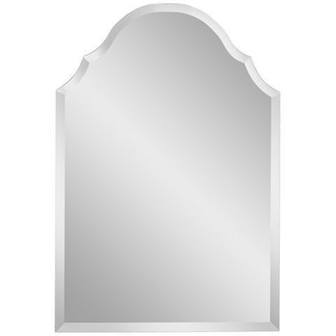 Adonia Crown Frameless 36 High Beveled Mirror