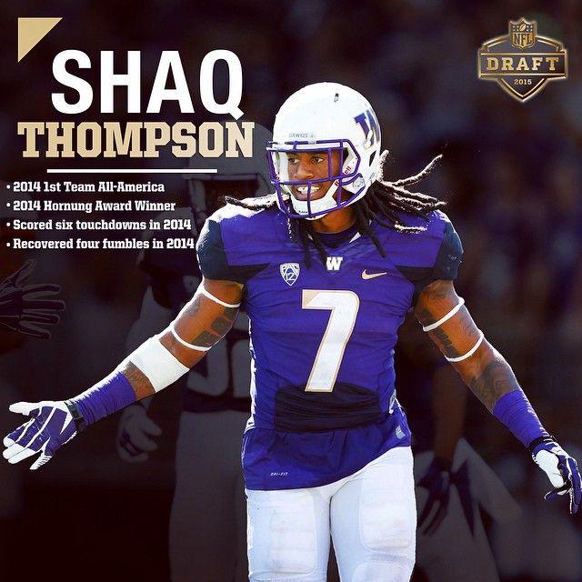 Best of luck to Shaq Thompson in tomorrow's #NFLDraft. #UWHuskies