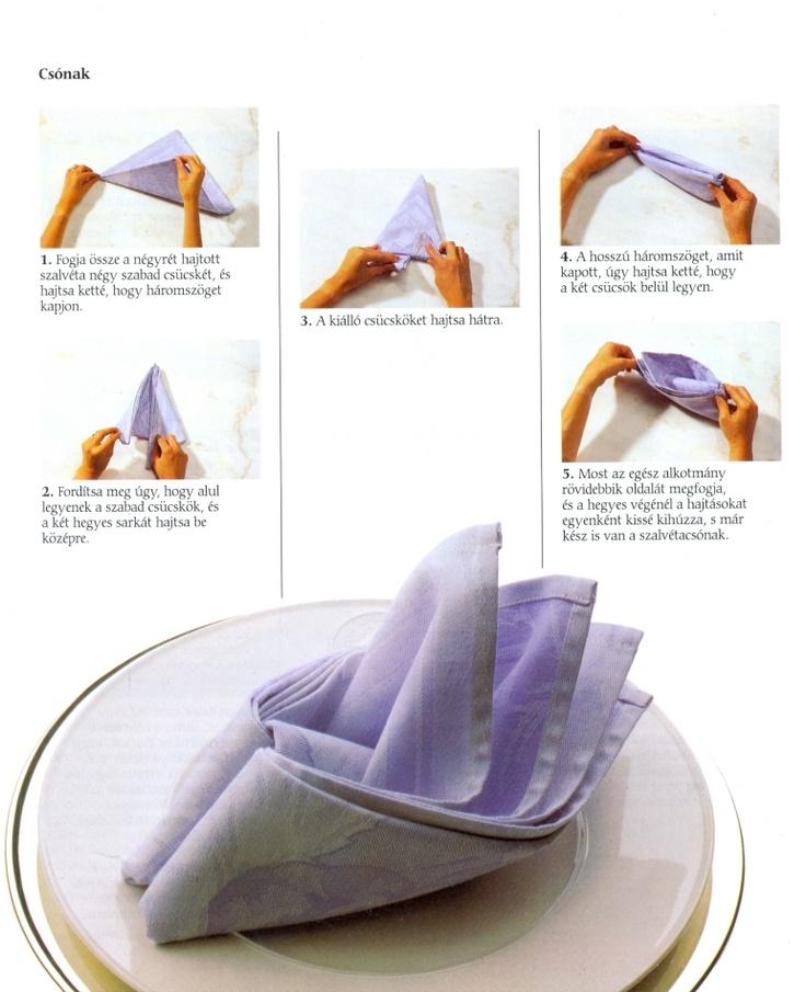napkin fold guardanapos - Blog Pitacos e Achados - Acesse…