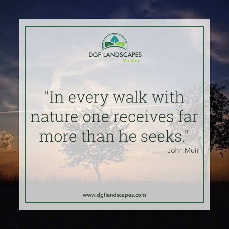"""""""In every walk with nature, one receives far more than he seeks."""" - John Muir ☀🌴🌺 #TuesdayTruth"""