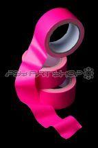 b) Ruban Adhésif toilé fluo 5 cm x 10 m  pink