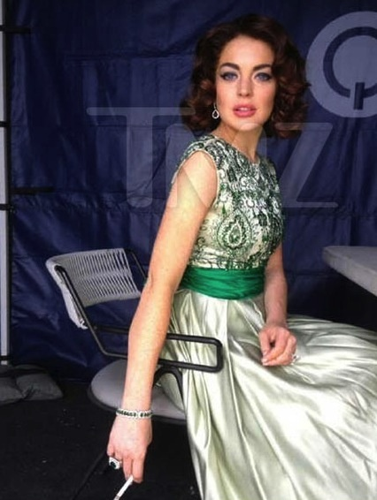 Lindsay Lohan as Elizabeth Taylor