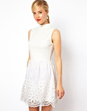 ASOS Prom Dress With High Neck - for nicole flower girl outfit??