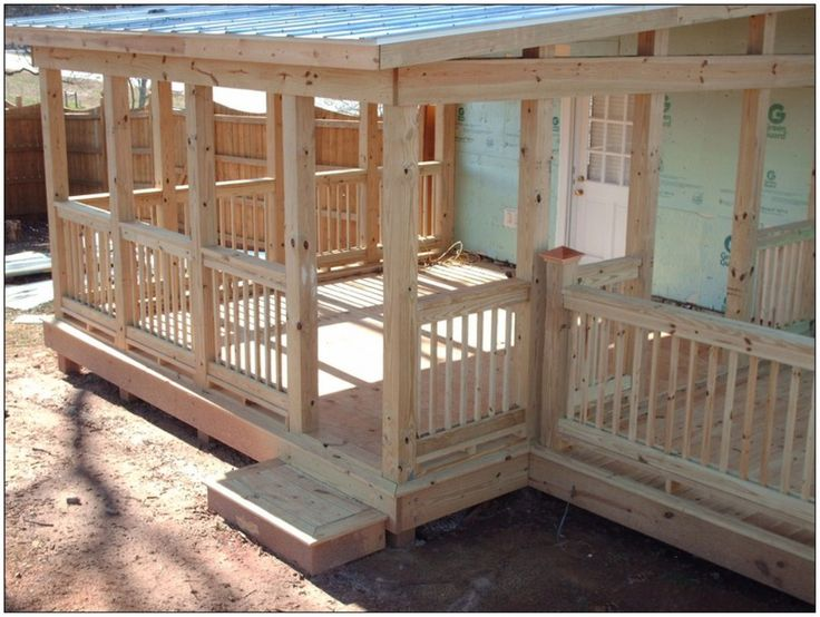Covered Decks Roof - pictures, photos, images