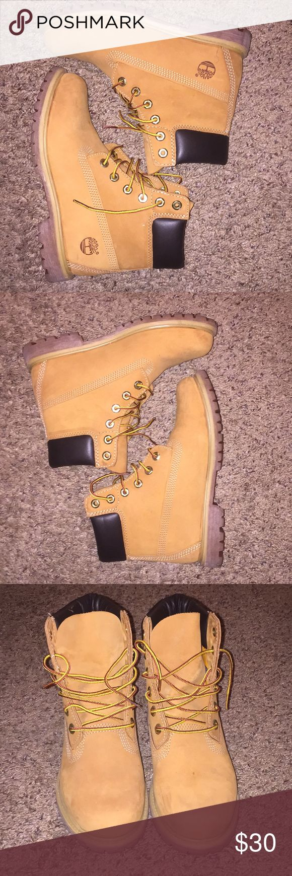 Women's Timberland Classics Only worn once! Just like new! Women's Timberland Classic Boots. Size 7 1/2 Timberland Shoes Combat & Moto Boots