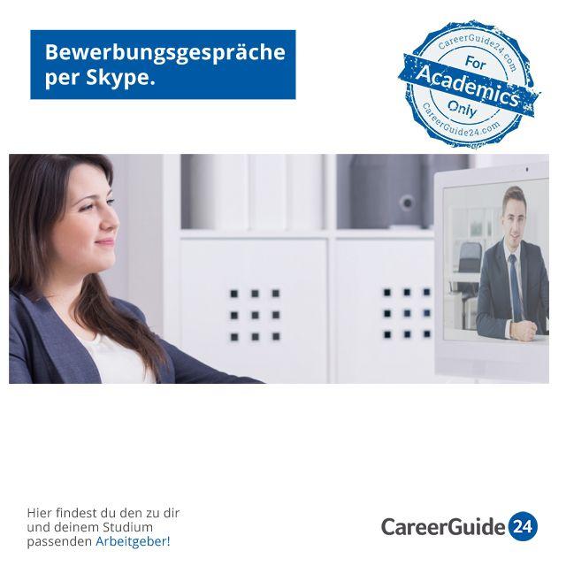 Worauf muss man achten, wenn man per Skype ein Bewerbungsgespräch führen will? Der CareerGuide24 Blog gibt dir wertvolle Tipps!