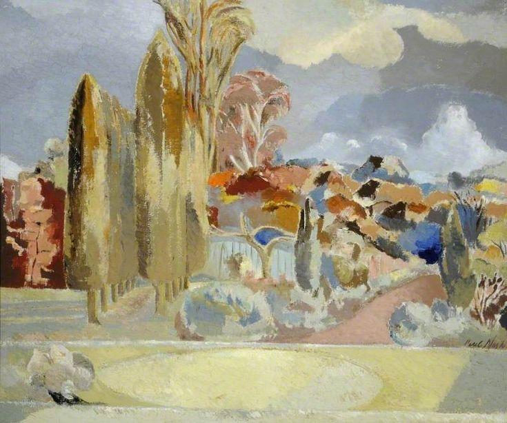 """""""Michaelmas Landscape"""" by Paul Nash, 1943 (oil on canvas)"""