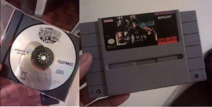 """Ayer fue un excelente día, primero encontré """"Super Puzzle Fighter II Turbo"""" para Windows 95 en una segunda y al llegar al trabajo de mi novia su jefe me obsequia """"Batman Returns"""" para el SNES."""