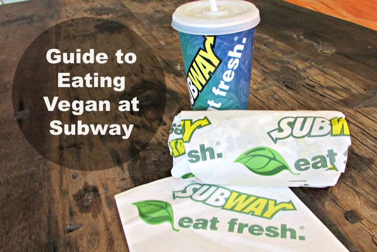 Subway Eat Vegan