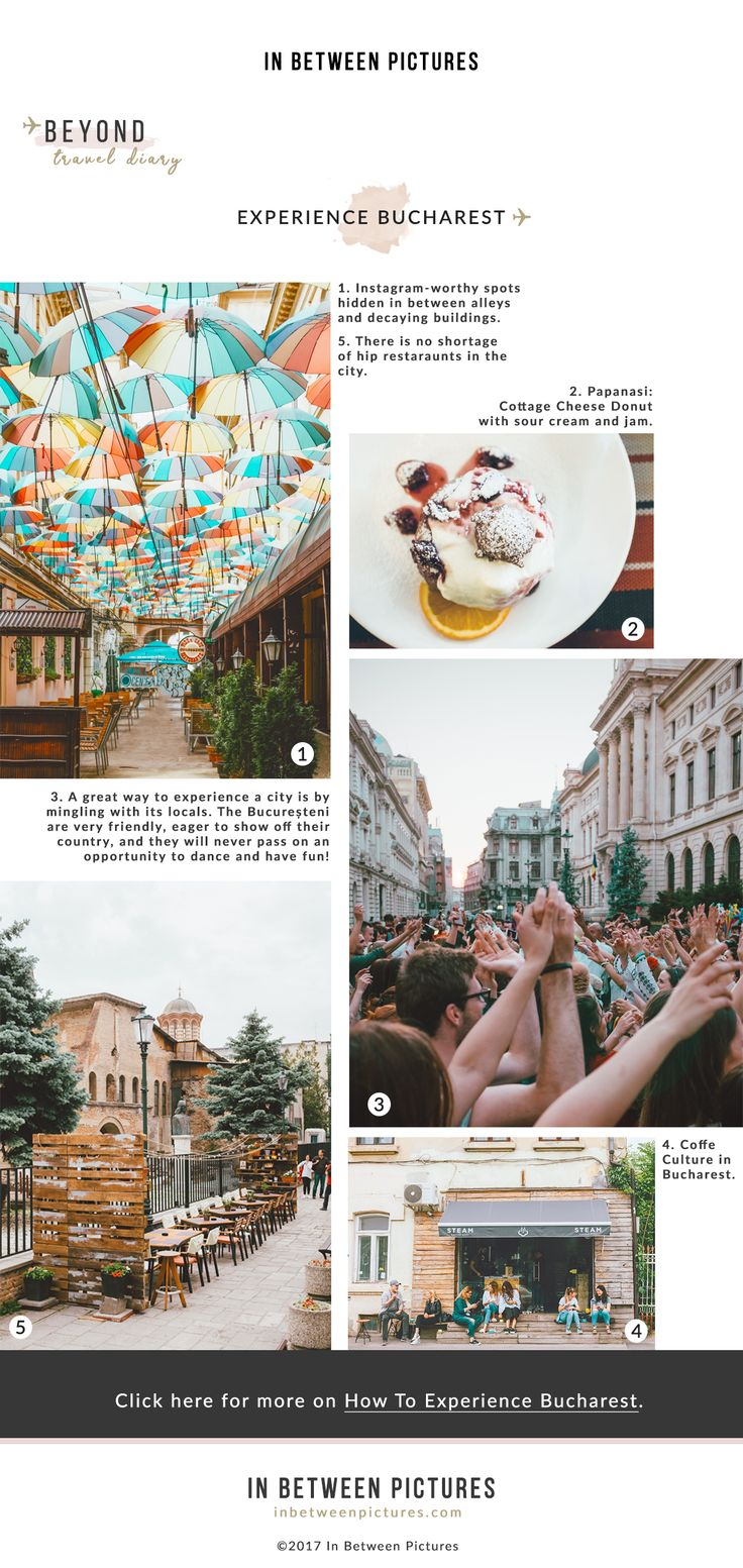 Bucharest is certainly one of the most underrated cities in Europe. Find out how to Experience Bucharest | Romania | InBetweenPictures.com