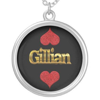 Gillian necklace - birthday gifts party celebration custom gift ideas diy