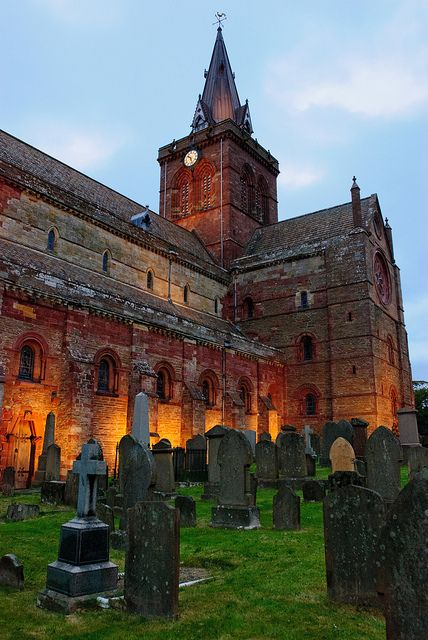 Saint Magnus Cathedral, Orkney, Scotland Why Wait?  Call #C. Fluker #traveldesigner #whywaittravels