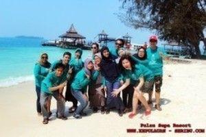 Wisata Bahari Pulau Sepa Resort Tour Pulau Seribu