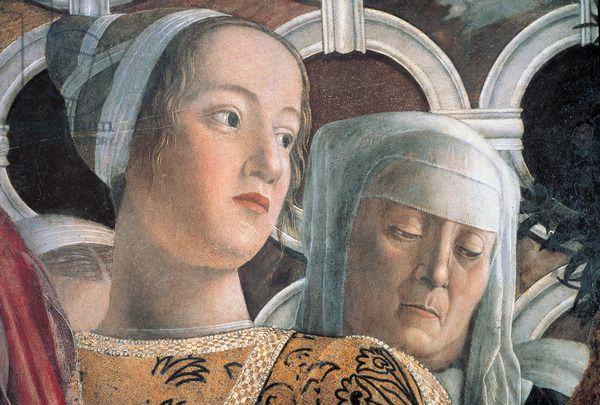 Andrea Mantegna, Decoration of the Camera degli Sposi (Camera Picta), 1465 - 1474 Palazzo Ducale, Mantua