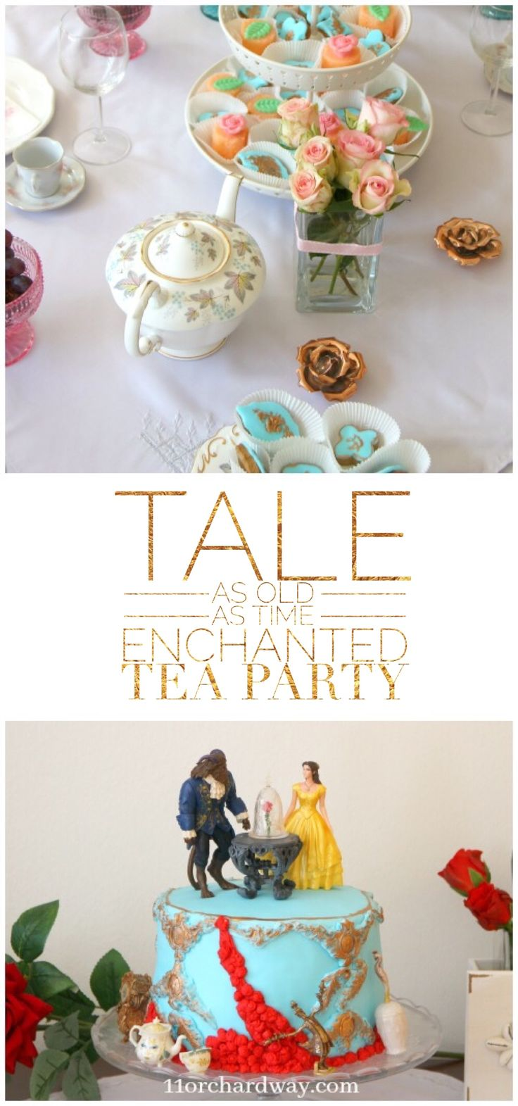 Tale as Old as Time Enchanted Tea Party