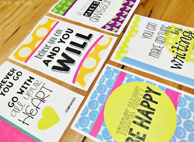 FREE Classroom Posters to Inspire