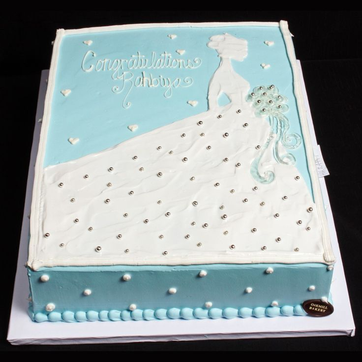 wedding dress sheet cake - Google Search