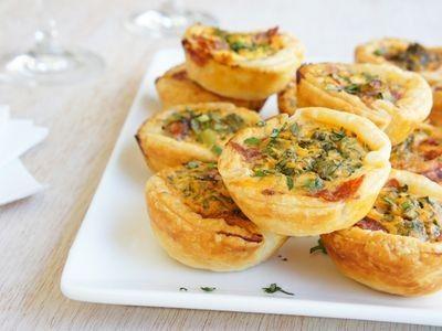 Salami Tartlets recipe