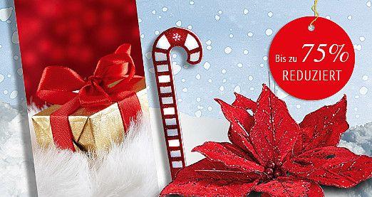 Entdecken Sie passend zu Ihrer #Weihnachtsdeko viele neue #Schnäppchen in unseren #Sonderangeboten des Monats! Bis zu 75% #reduziert! #Winterdeko #SALE http://www.decowoerner.com/de/Aktuelles-11321/Angebote-des-Monats-11492.html