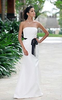ABIONA - Vestido de Noiva em Tafetá – BRL R$ 430,23