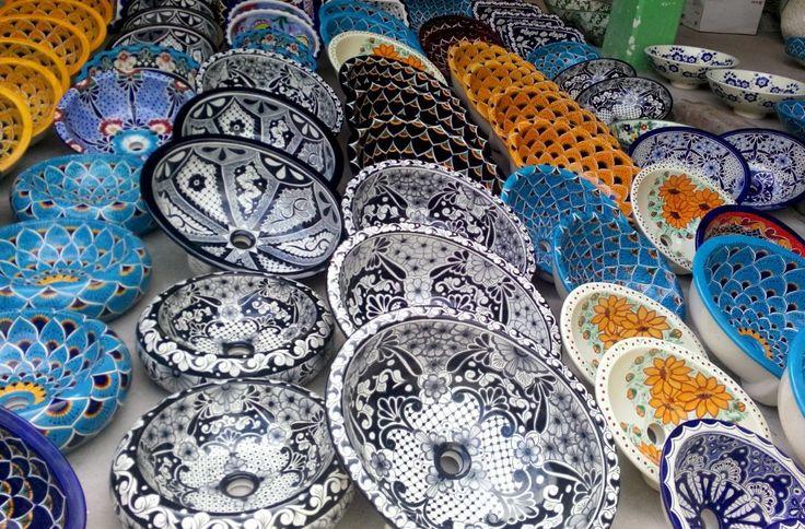 Meksykańskie umywalki