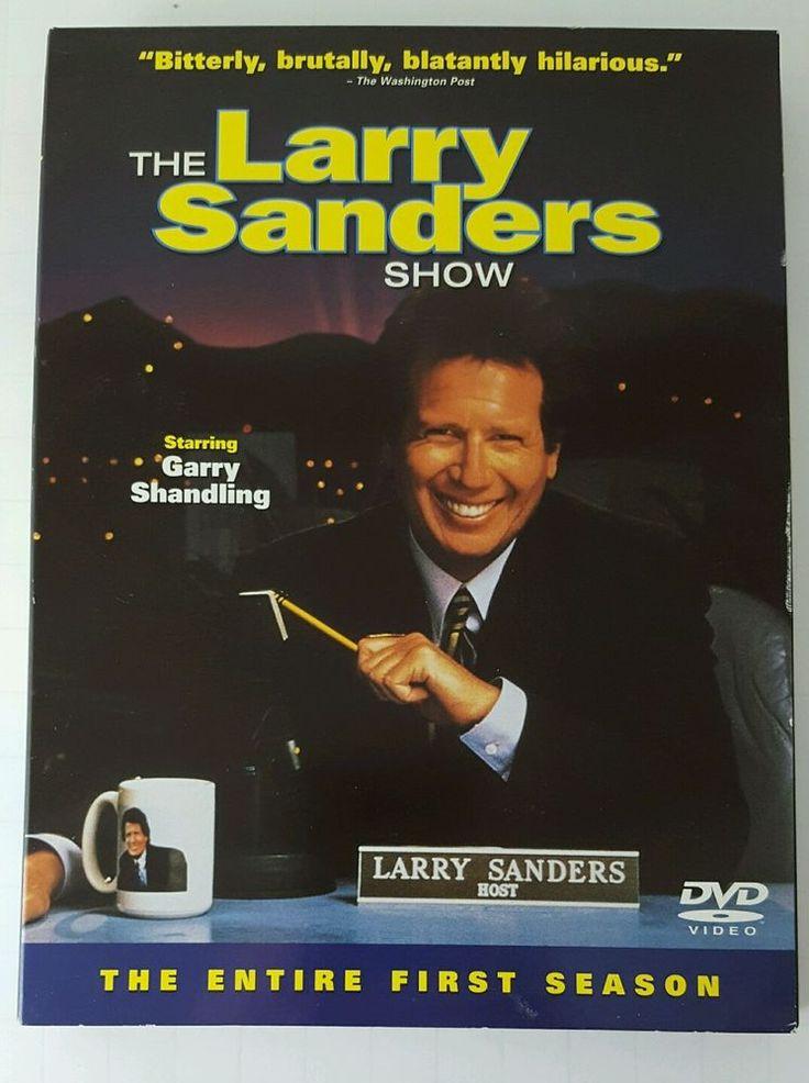 Larry Sanders Show Complete First Season Three DVD Set Garry Shandling Rip Torn