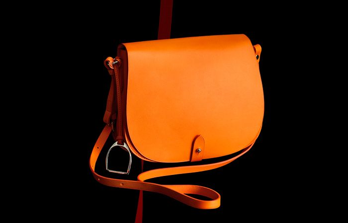 Ralph Lauren - Hand crafted in Italy, the Vachetta Equestrian Bag.