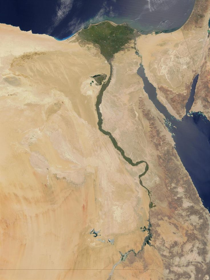 As seen on Cosmos The Nile River