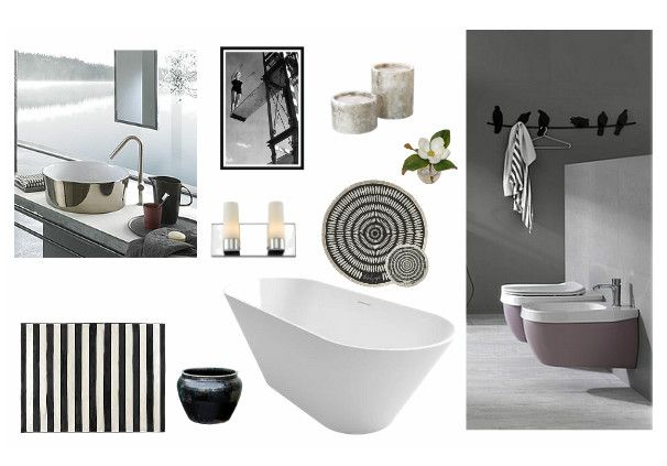 Check out this moodboard created on @olioboard: Bathroom by uana