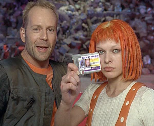 Fifth element leeloo dallas fucks herself in the ass 7