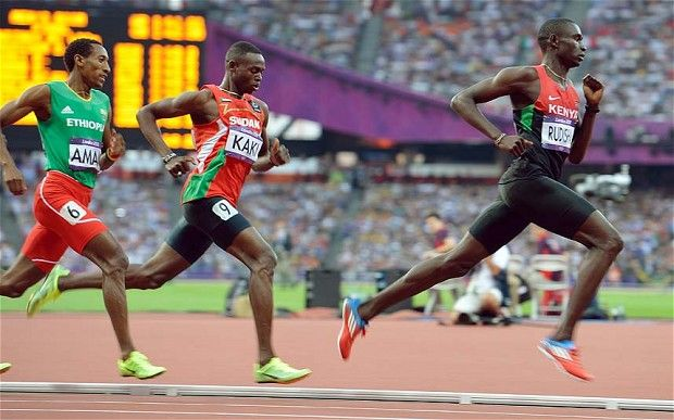 David Rudisha | David Rudisha 800m Olympics gold 2012 in London.