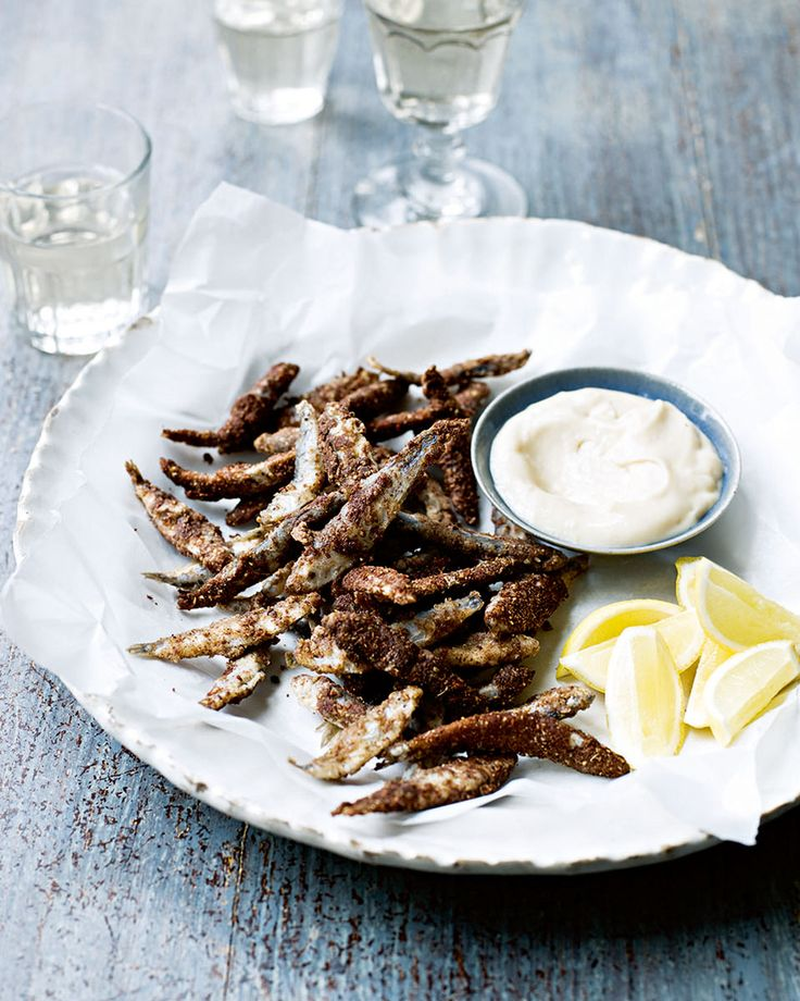 5-Spice Dusted Spanish Whitebait. This crispy whitebait recipe is the perfect starter to serve at your next dinner party.