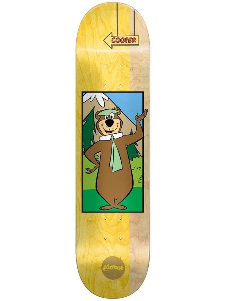 Tabla De Skate Almost Yogi Bear R7  | eBay