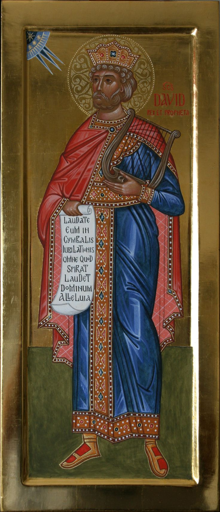 Santo Davide re e profeta per mano di Giuliano Melzi (Italy)