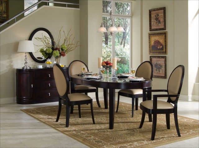 47 Perfect Small Dining Room Sets Ideas  Small Dining Rooms Pleasing Oval Dining Room Table Sets Design Ideas