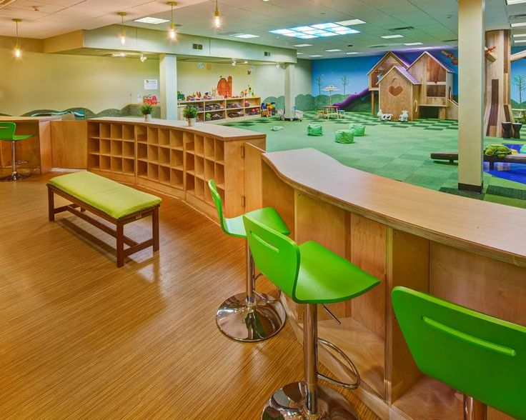 natural colours with indoor children's play areas