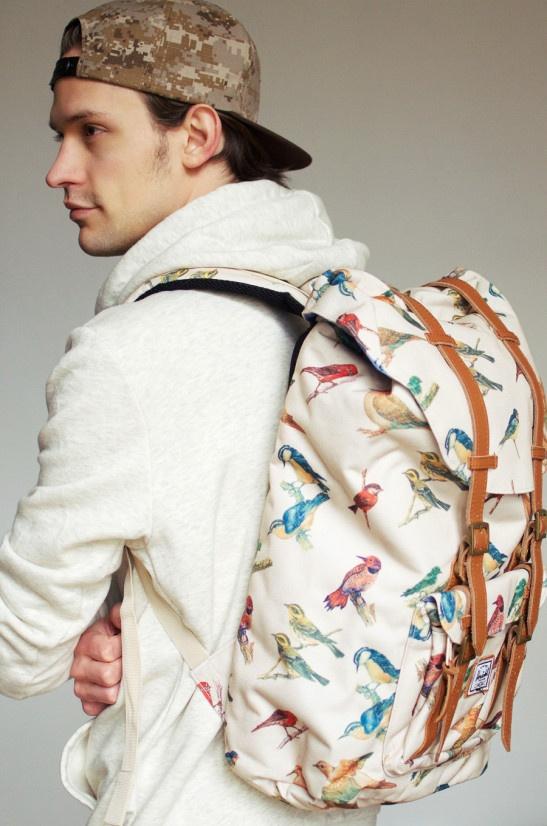 Herschel x Bad Hills - canvas bag
